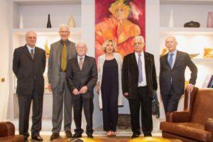 """Assemblea ordinaria e premiazione ingegneri da cinquanta anni, il """"Grazie"""" della presidente Dondi ai partecipanti."""