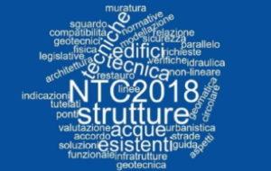 Seminario La Circolare delle NTC 2018 relativa agli edifici esistenti in muratura e il parallelo alle linee guida per gli edifici tutelati